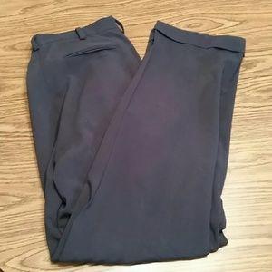 Nike flex gold pants,33x32, navy blue
